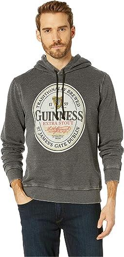 Guinness Burnout Fleece Hooded Sweatshirt