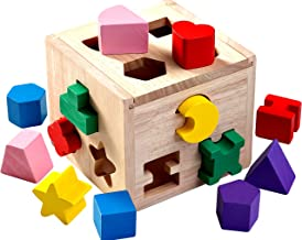 Jaques of London – Shape Sorter - Perfect Wooden Toys for 1 2 3 Year Olds – Since 1795