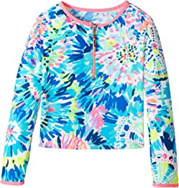 Lilly Pulitzer Kids - UPF 50+ Mini Sydney Sunguard (Toddler/Little Kids/Big Kids)