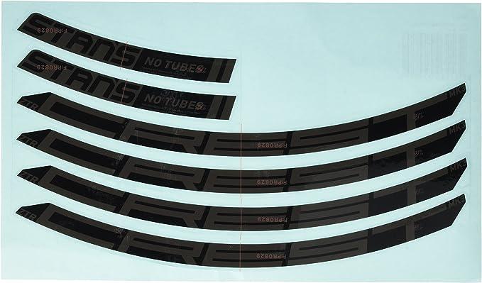 "NO TUBES DECAL AUFKLEBER SET ZTR FLOW MK3 27,5/""650B FELGE LAUFRADSATZ"