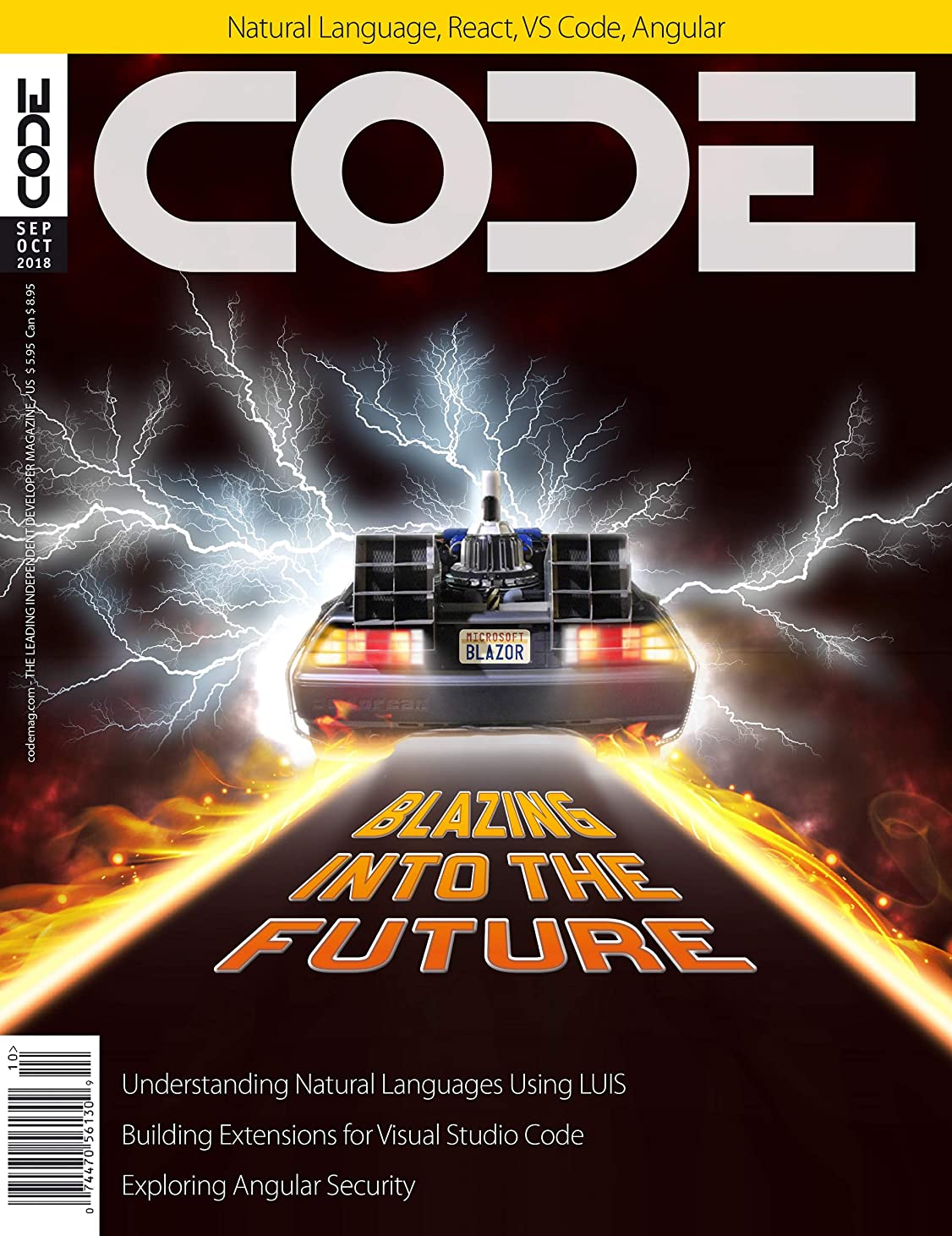 暖かさ社会転倒CODE Magazine - 2018 - September/October (English Edition)