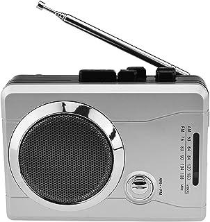 DIGITNOW! Mini Digital Audio Retro Cassette Player Wireless AM/FM Radio and Voice Radio Cassette Recorder with Earphones
