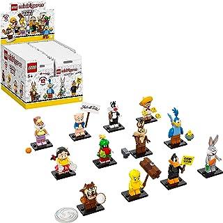 مجموعة مجسمات لوني تيونز الصغيرة 71030 من ليغو، حقيبة من 12 شخصية لجمعها، مجموعة باصدار محدود
