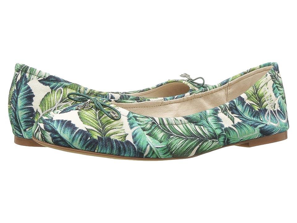 Sam Edelman Felicia (Jade Multi Wallpaper Palm Print) Women