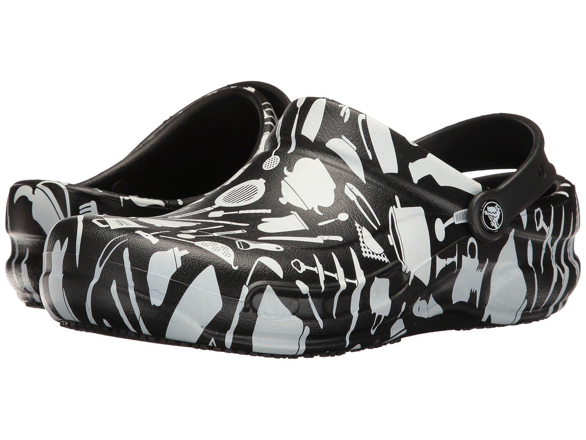 Calzado Sin Talon para Hombre Crocs Bistro Graphic Clog  + Crocs en VeoyCompro.net