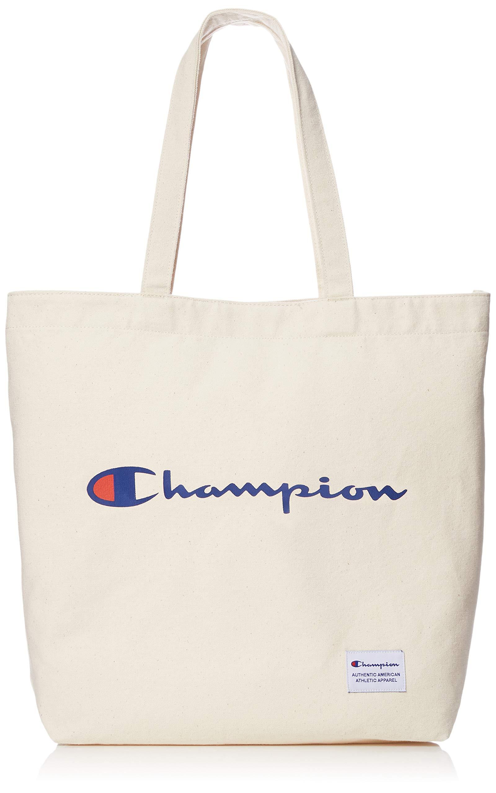 (冠军) Champion 帆布 印有标志 大手提袋(横长款)