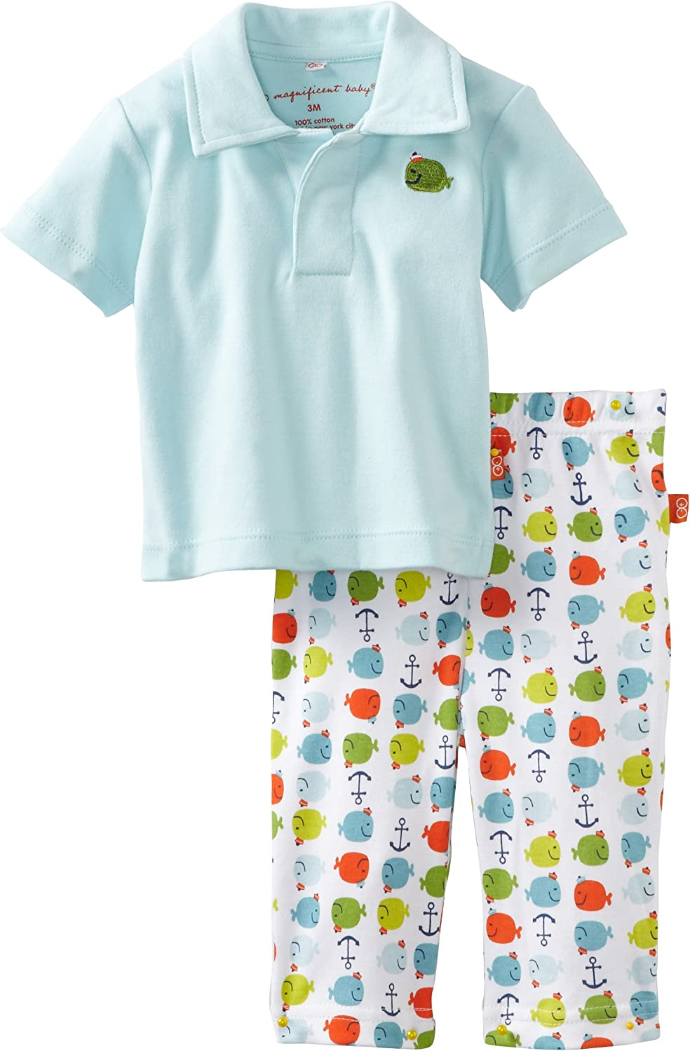 Magnificent Baby-Boys Newborn Polo Shirt And Pant