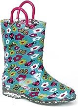 Chatties Little Girls' Fun Print Rain Boot