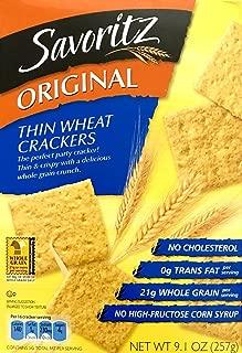 Savoritz Thin Wheat Crackers (Original)