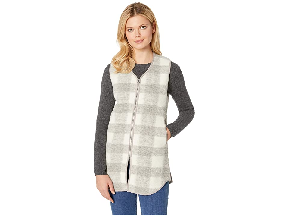 Woolrich Chilly Days Long Vest (Gray Heather) Women