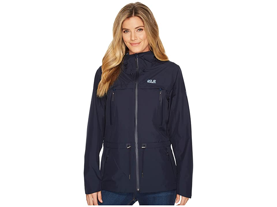 Jack Wolfskin Fairview Jacket (Midnight Blue) Women
