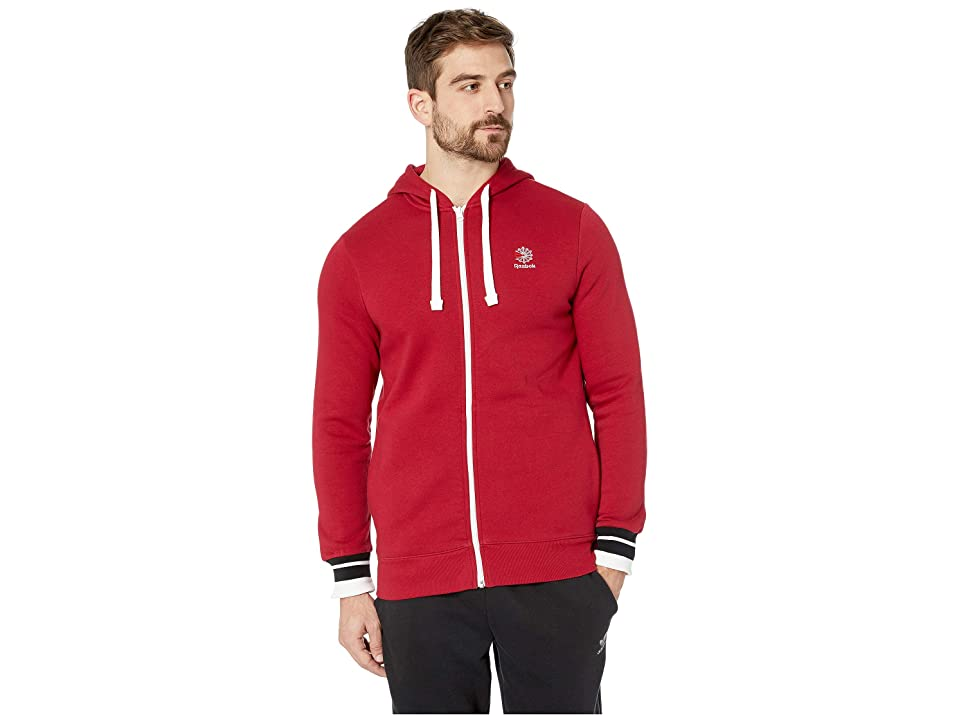 Reebok Activchill Full Zip (Cranberry Red) Men