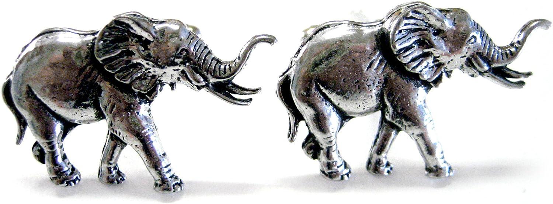 Walking Elephant Cufflinks