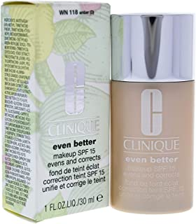 Clinique Even Better Makeup SPF 15 Foundation, 13 Amber, 1 Ounce