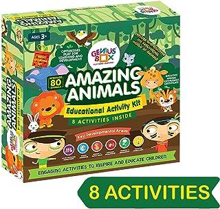 Genius Box Educational Toy for 3+ Year Age: Amazing Animals DIY, Activity Kit, Learning Kit, Educational Kit, STEM Toy
