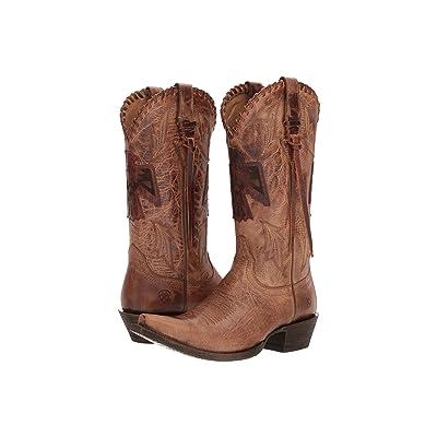 Ariat Thunderbird X-Toe (Crackled Tan) Cowboy Boots
