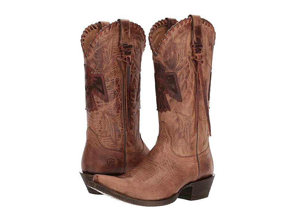 Ariat Thunderbird X-Toe (Crackled Tan) Cowboy Boots