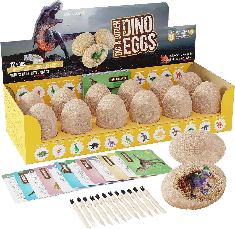 Dig a Dozen Dino Egg Kit - Easter Dinosaur Toys for Kids - up 12...