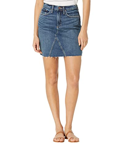 Silver Jeans Co. Frisco High-Rise Low Miniskirt L38602RCS374 (Indigo) Women