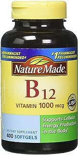 nature made b12 1000 mcg 400 ct