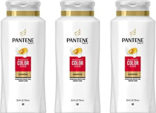 Pantene Pro-V Radiant Color Shine Shampoo 25.4 Fl Oz (Pack of 3)