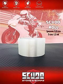 Quattroerre 16802 Pellicola Adesiva Scudo per Protezione Carene Moto Spessore 0.3 mm 16 cm x 1.5 m