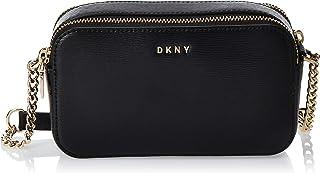 DKNY Womens Bryant Luxury Accessories Crossbody Bag, Color Black