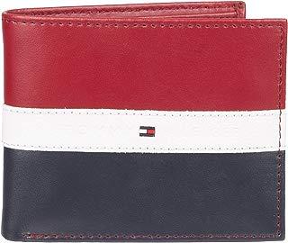 Tommy Hilfiger Men's Leather Wallet - RFID Blocking Slim...