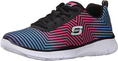 Skechers Kids Equalizer-Expect Miracles Turnschuhe,schwarz Multi,12 M US Little Kid