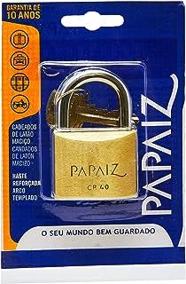 Cadeado Standard, Papaiz, CR40, Latão