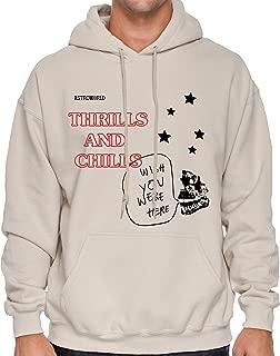Thrills and Chills Hoodie Astroworld Hoodie Travis Scott Hoodie Astroworld Merch Chills and Trills Hoodie Astroworld Tour Merch For Men For Women