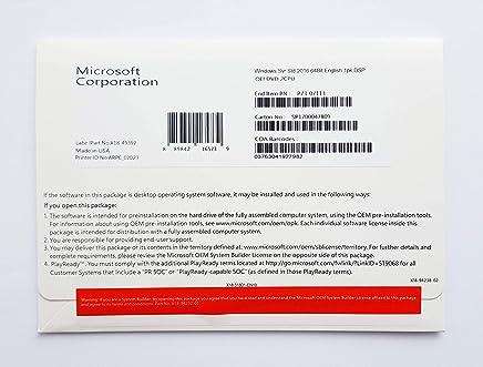 Windows Server Standard 2016, 64-Bit, 16-Core