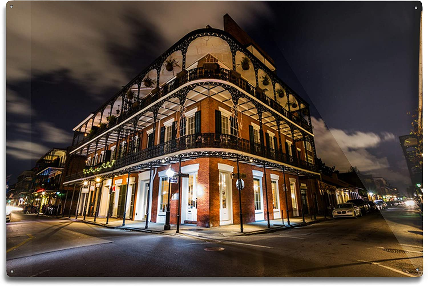 Ranking TOP18 Sale item New Orleans Louisiana Downtown French Quarters Photo at Night