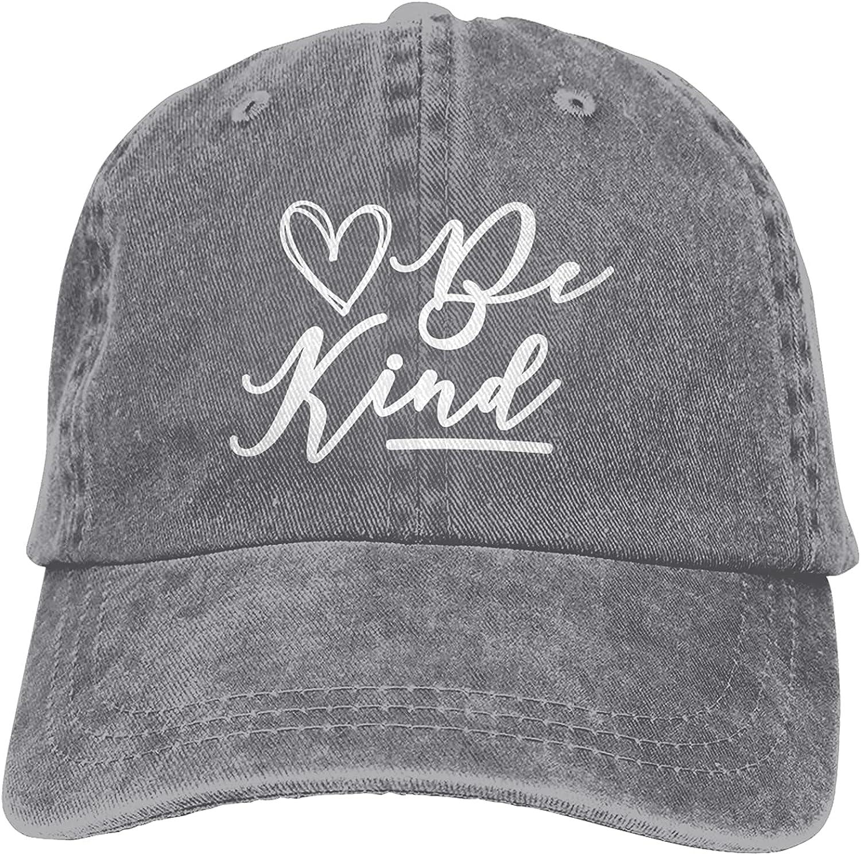 Be Kind Hat, Baseball Cap Men Women Washable Cotton Trucker Cap Dad