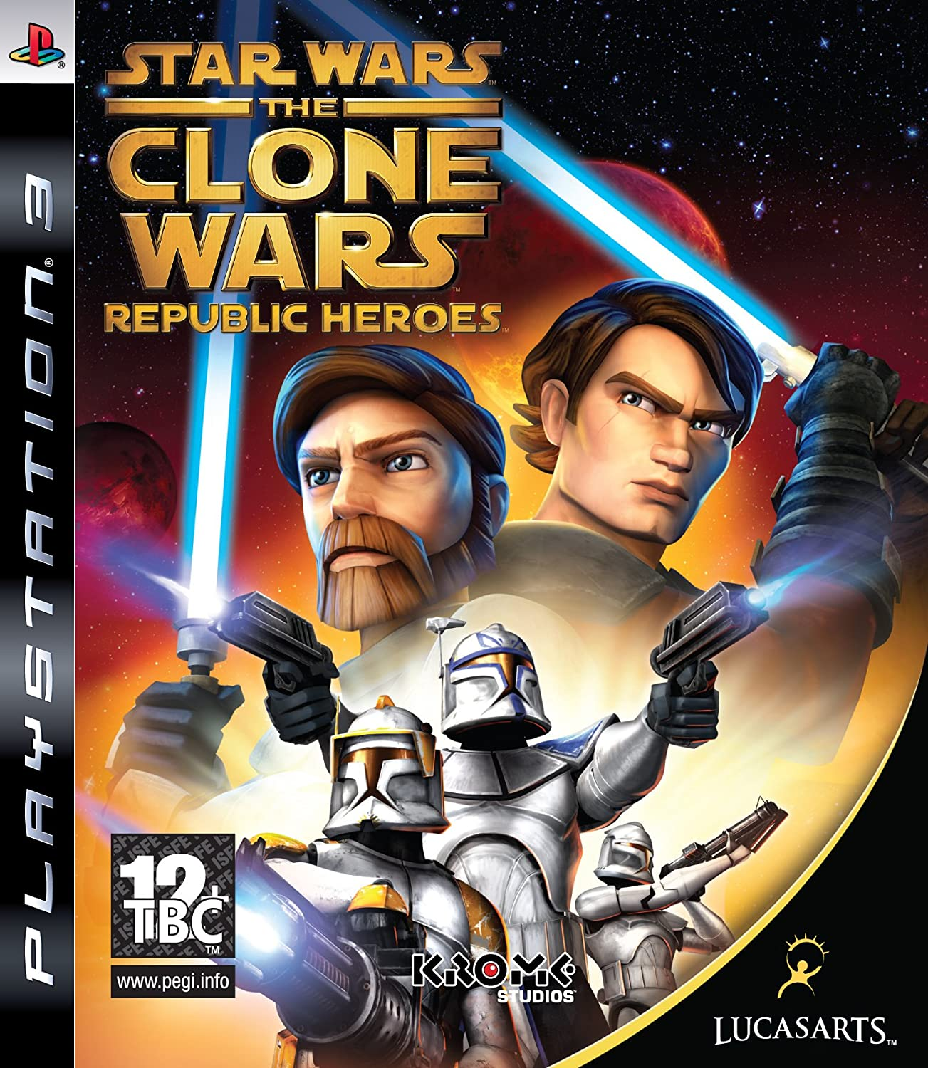 Max 50% Excellent OFF Star Wars: The Clone Wars Heroes PS3 - Republic