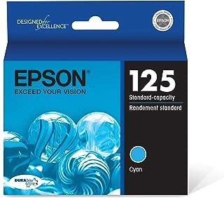 Epson T125220-S DURABrite Ultra Cyan Standard Capacity Cartridge Ink