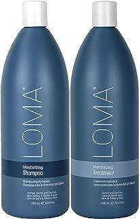 Loma Hair Care Moisturizing Shampoo Moisturizing Treatment Duo (Packaging May Vary)