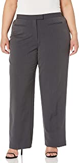 Ruby Rd. Women's Size Plus Flat Front Easy Stretch Pant