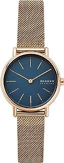 Skagen Signatur Women's Blue Dial Stainless Steel Analog Watch - SKW2837