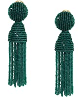Oscar de la Renta - Short Beaded Tassel Earrings