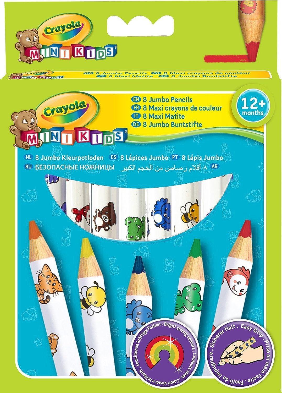 2x C ola Beginnings - Jumbo Decorated Pencils (8 Pack)