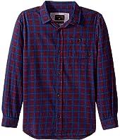Quiksilver Kids - Phaser Setting Long Sleeve Shirt (Big Kids)