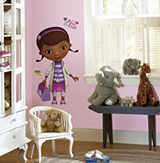 RoomMates Doc Mcstuffins Peel and Stick Giant Wall Decals