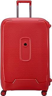 Delsey Paris Moncey Suitcase, 76 cm, 112 L, Red Stars