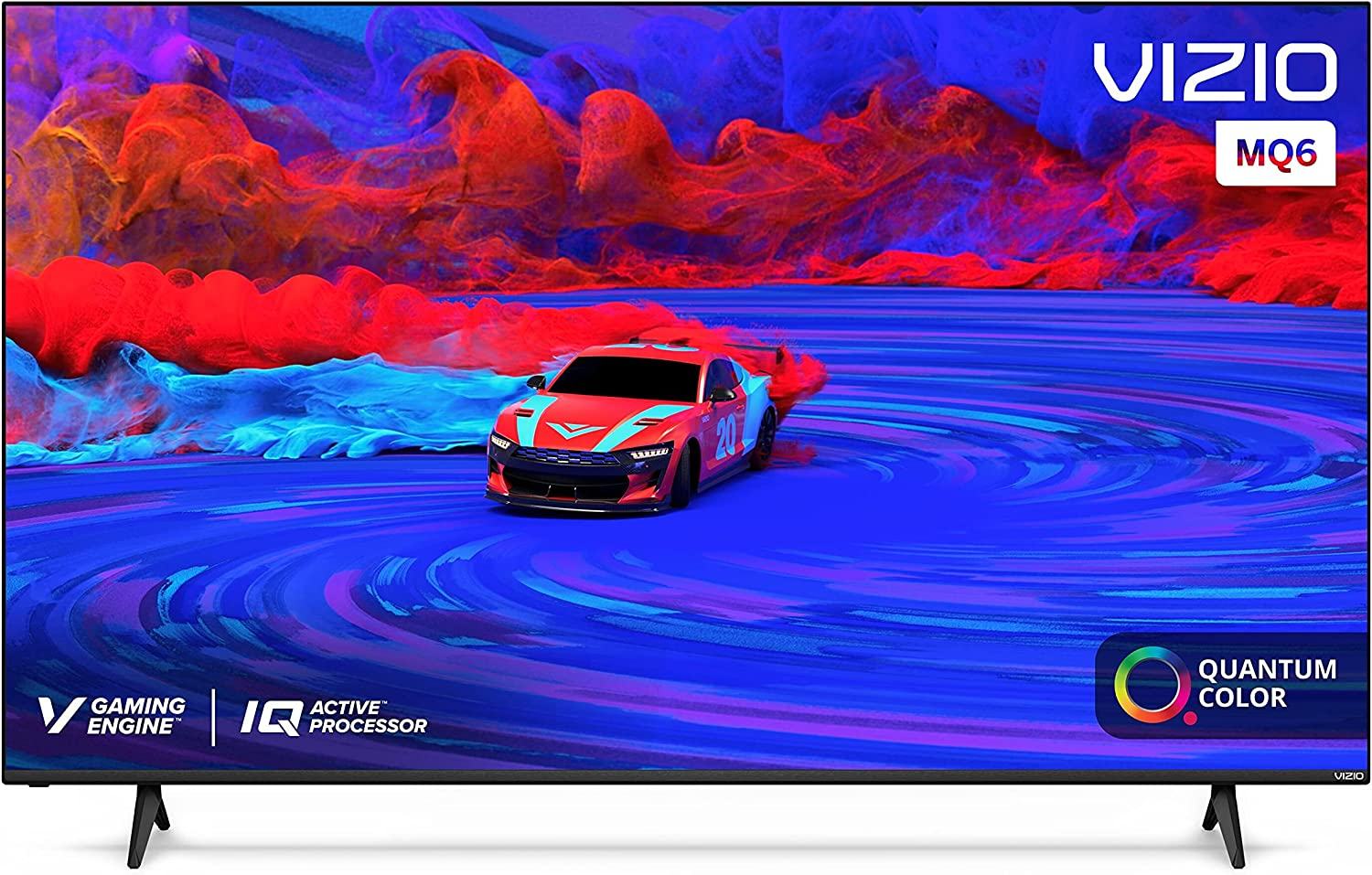 VIZIO 65-Inch M-Series Quantum 4K UHD LED HDR Smart TV with Apple AirPlay and Chromecast Built-in, Dolby Vision, HDR10+, HDMI 2.1, Variable Refresh Rate, M65Q6-J09, 2021 Model