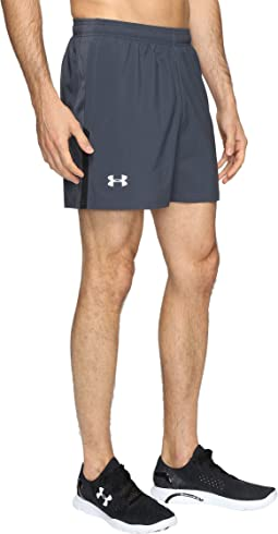 "UA Launch Stretch Woven 5"" Shorts"
