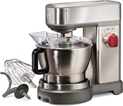 Wolf Gourmet High-Performance Stand Mixer, 7-Quart, Brushed Stainless Steel, WGSM100S