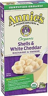 Annie's Organic Shells & White Cheddar Macaroni and Cheese, 6 oz (12 Pack)