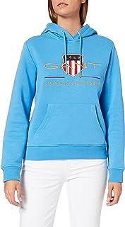 GANT Women's D1. Archive Shield Sweat Hoodie Hooded Sweatshirt