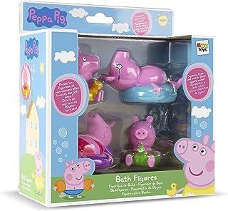 IMC TOYS 715098 - Figuritas para el baño Peppa Pig (4 figuras, surtido)